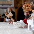 Епископ Фома совершил великое освящение Престола в Успенском соборе Лавры