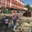 Городской пикник на улице Карла Маркса