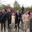 Митинг, посвящённый 76 годовщине великой Победы, прошёл У Мемориала Славы