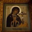 Епископ Фома совершил Божественную литургию в храме Ахтырской иконы Божией Матери в деревне Ахтырка