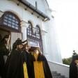В Троице-Сергиевой Лавре проводили ковчег с мощами святого Александра Невского