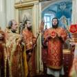 Епископ Фома совершил Литургию в храме святых Космы и Дамиана в Болшеве