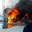 Сейчас пожар на рынке в Хотьково