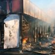 Сгорел магазин в Хотькове